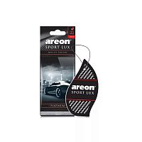 Ароматизатор AREON SPORT LUX (PLATINUM) листик (1шт)